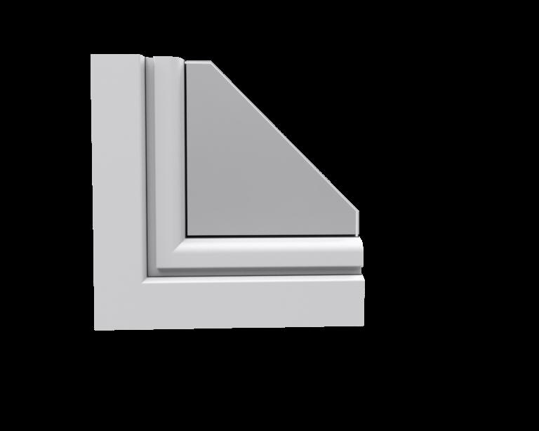 róg okna Aluplast Ideal