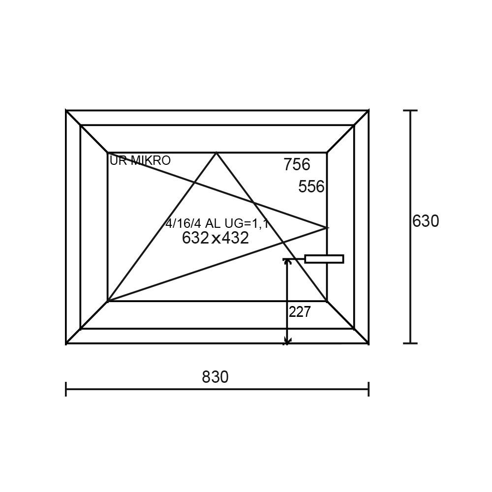 Aluplast Ideal 4000 830×630