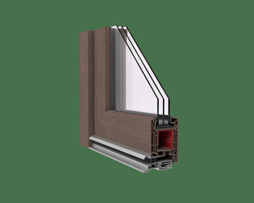 drzwi tarasowe veka softline 82
